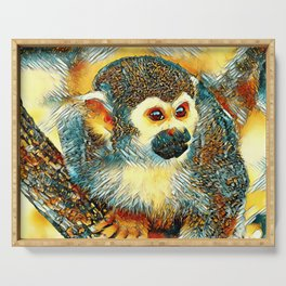 AnimalArt_Monkey_20170602_by_JAMColorsSpecial Serving Tray