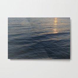 Sunset Waves, Take Two Metal Print
