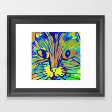Orange Kitty 3 Framed Art Print