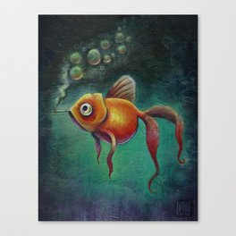 Smoked Salmon Canvas Print