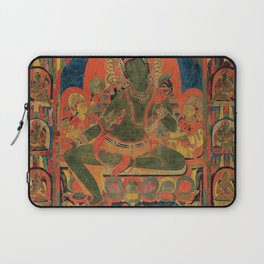 Hindu Krishna Tapestry Laptop Sleeve