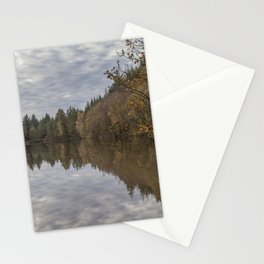 Autumn Lake Reflections Stationery Cards