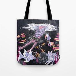 Deep Deep Down - New World Tote Bag