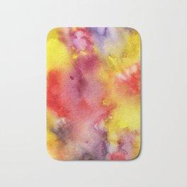 Watercolor painting Bath Mat