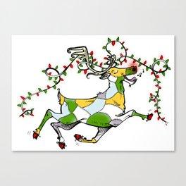 Rockin' Reindeer! Canvas Print