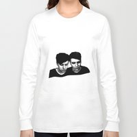 danisnotonfire Long Sleeve T-shirts featuring AmazingPhil &Danisnotonfire by xzwillingex