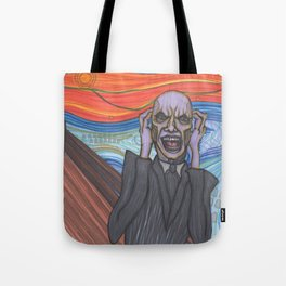 The Scream (Hush Gentleman from Buffy) Tote Bag