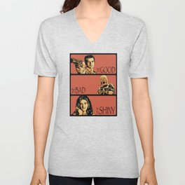 The Good, the Bad, and the Shiny - Firefly Unisex V-Neck