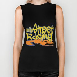 "This ""Brooklyn Street Racing"" vandal style is perfect for exotic and extraordinary person like you!  Biker Tank"
