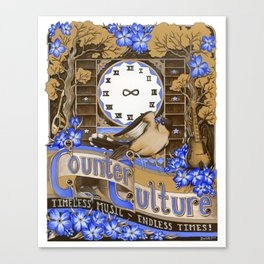 Counter Culture Canvas Print