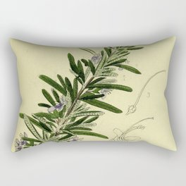 Botanical Rosemary Rectangular Pillow