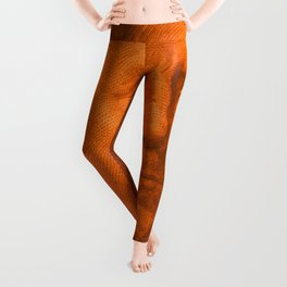 Benjamin Dark (orange light) Leggings