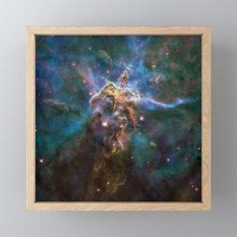 Mystic Mountain Framed Mini Art Print
