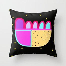 Winter Spotty Pattern Throw Pillow
