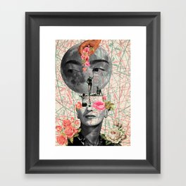 my muse (Frida Kahlo) Framed Art Print