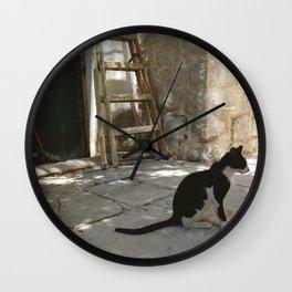 Masjid Nabi Musa II x Photo Wall Clock