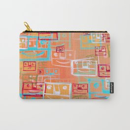 Many Faces Carry-All Pouch