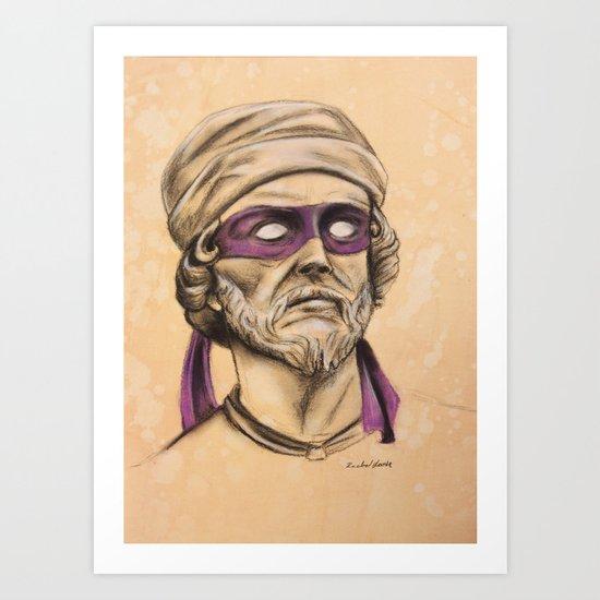 Donnie TMNT Art Print