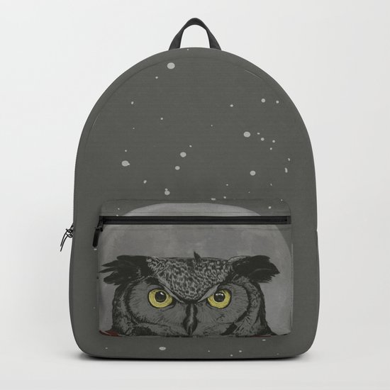 Winter owl Backpack