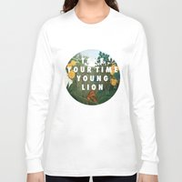 vampire weekend Long Sleeve T-shirts featuring Weekend of the Lion by Modern Vampires of Art History