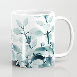 Eucalyptus Leaves Green Vibes #2 #foliage #decor #art #society6 Coffee Mug