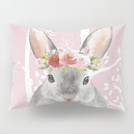 Animals in Forest - The little Bunny Pillow Sham