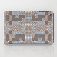 reassurance iPad Cases featuring Wood print VI by Magdalena Hristova