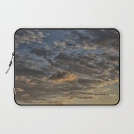 CLOUDS AT THE SUNSET Laptop Sleeve