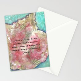 Conch beat the truth Stationery Cards