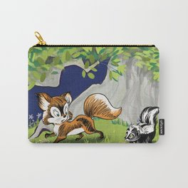 Spunky Little Skunk Carry-All Pouch
