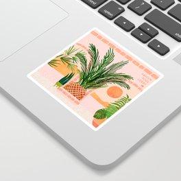 Mediterranean Vacation / Exotic Landscape Sticker