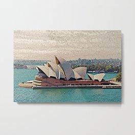 Sydney Opera House Metal Print