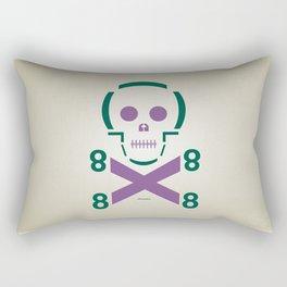 HELLvetica Rectangular Pillow