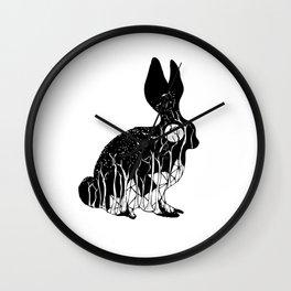Leporidae Wall Clock