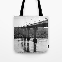 Under the Big Dam Bridge Tote Bag