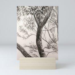 Black and White Tree Mini Art Print