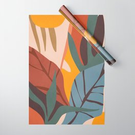 Abstract Art Jungle Wrapping Paper