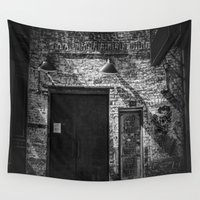 chelsea Wall Tapestries featuring NY Chelsea Night Club by Paul Vayanos