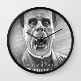 Erik Unmasked Wall Clock