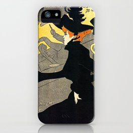 Toulouse Lautrec Divan Japonais music hall iPhone Case
