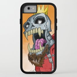 Jackhook Metal Skeleton iPhone Case