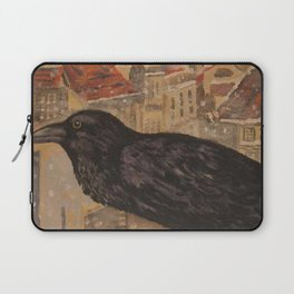 Crow and Snow Laptop Sleeve