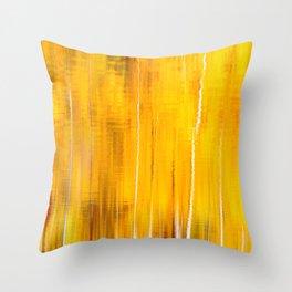 Autumn colors reflecting on the lake surface #decor #buyart #society6 Throw Pillow