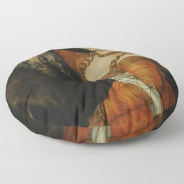 "Lucas Cranach the Elder ""The Ill-Matched Couple"" 1. Floor Pillow"