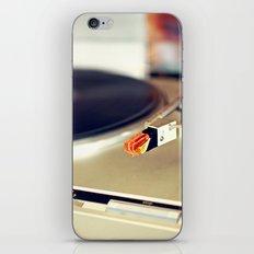 Vinyl Lover iPhone & iPod Skin