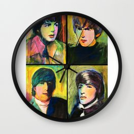 Fab 4 Montage Wall Clock