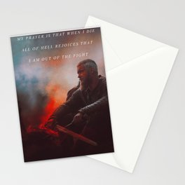I Am Out Of The Fight Stationery Cards
