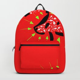 Follow The Rat - Abstract Arrows Illustration Backpack