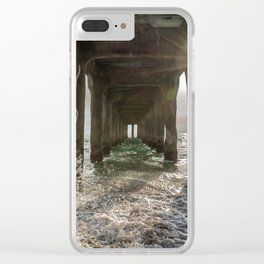 Pier Pressure Clear iPhone Case