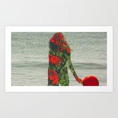 Double Exposure 2 Art Print